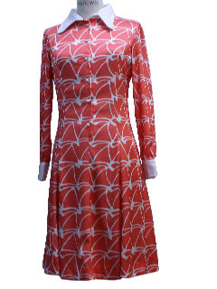 1970's Womens Designer Dress