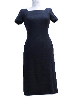 1950's Womens Wool New Look Sheath Dress