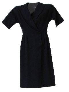 1950's Womens Wool Fab Fifties Dress
