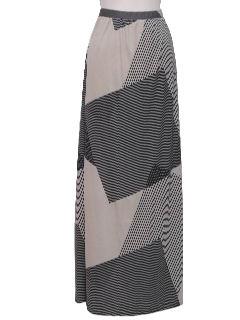 1980's Womens Maxi Skirt