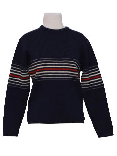 1980's Womens Wool Ski Sweater