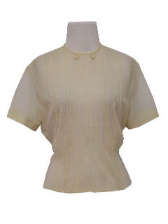 1950's Womens Sheer Shirt