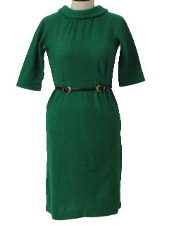 1950's Womens/Girls Wool Dress