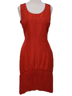 1920's Womens Flapper Inspired Tank Dress