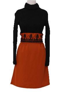 1970's Womens Knit Dresss