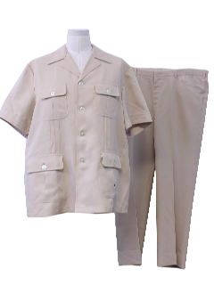 1980's Mens Leisure Suit