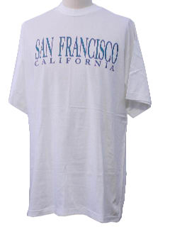 1990's Unisex Travel/Tourist T-Shirt
