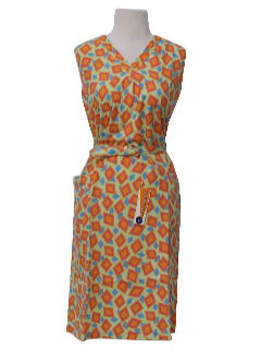 1960's Womens Mod Tank Dress