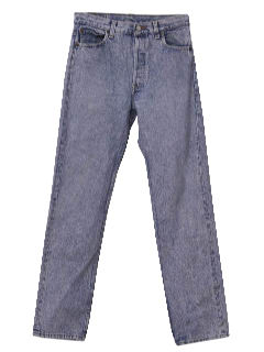 1980's Mens Acid Washed Levis Jeans Pants