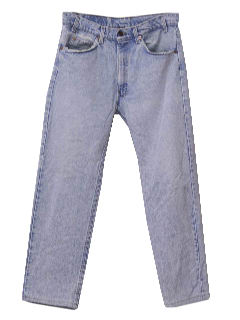 1990's Mens Grunge Acid Washed Levis Jeans Pants