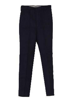 1960's Mens Mod Corduroy Stove Pipe Pants
