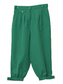 1980's Womens Golf Knicker Pants