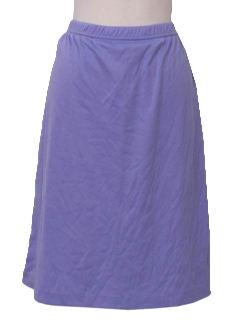 1980's Womens A-line Skirt