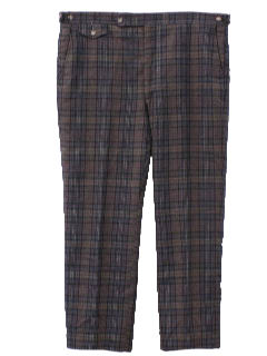 1970's Mens Wool Pants