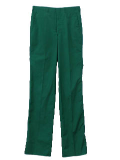 1980's Mens Christmas Green Totally 80s Preppy Golf Pants