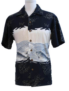 1990's Mens Hawiian Style Sport Shirt
