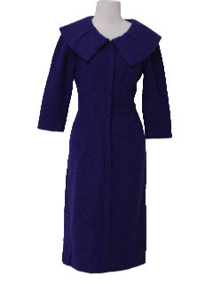 1950's Womens Wool Dress