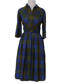 1960's Womens New Look Day Dress