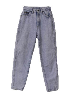 1990's Womens Acid Washed Jeans Pants