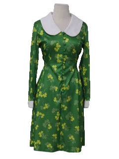 1960's Womens Designer Knit Dress