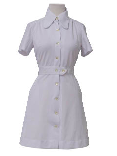 1970's Womens Nurse Dress