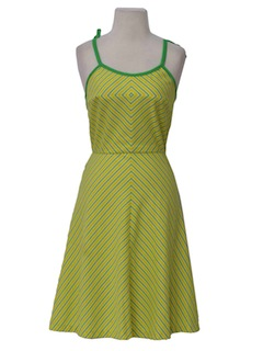 1980's Womens Totally 80s Sun Dress