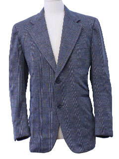 1980's Mens Sport Coat Style Blazer Jacket