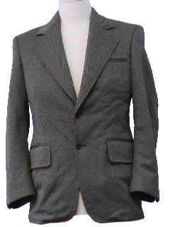 1970's Mens Sport Coat Style Blazer Jacket