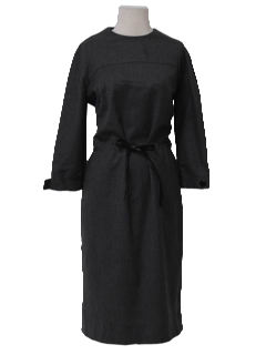 1960's Womens Wool New Look Day Dress
