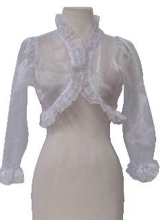 1990's Womens Bolero Jacket