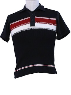 1970's Mens/Boys Knit Shirt