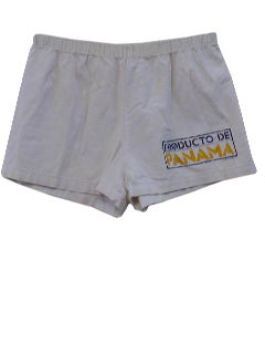 1980's Mens Totally 80s Beach Shorts