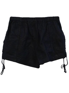 1990's Womens Wicked 90s Leather Shorts