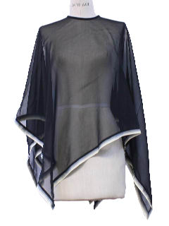 1970's Womens Poncho Cape Jacket