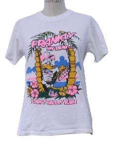 1980's Womens Totally 80s Cheesy T-Shirt