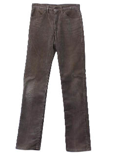 1980's Mens Jeans-Cut Corduroy Pants