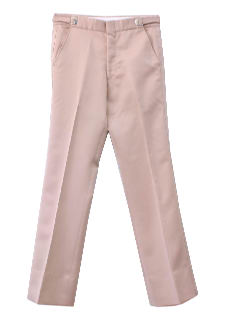 1970's Mens Flared Tuxedo Leisure Pants
