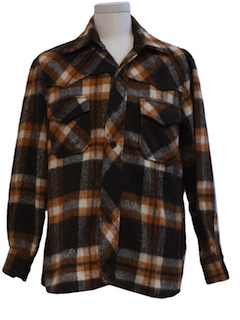 1970's Mens Shirt Jacket