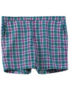 1980's Mens Golf Shorts