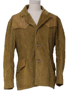 1960's Mens Corduroy Jacket