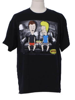 1990's Mens Wicked 90s Cartoon T-Shirt