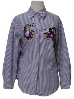 1990's Womens Disney Shirt