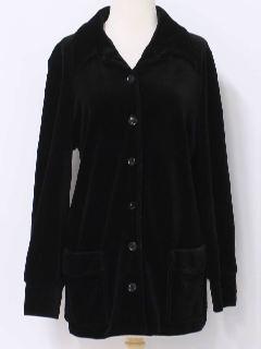 1970's Womens Velvet Jacket