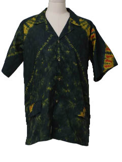 1980's Mens Hippie Shirt