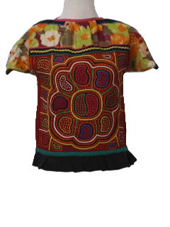 1960's Womens Hippie Shirt