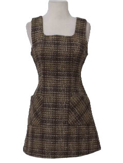 1990's Womens Wool Dress