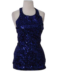 1980's Womens Totally 80s Mini Cocktail Dress