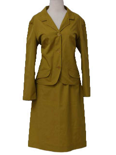 1960's Womens Skirt Suit