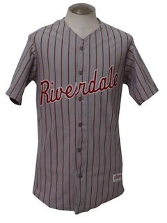 1980's Mens Baseball Jersey Shirt