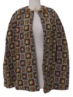 1970's Womens Hippie Cape
